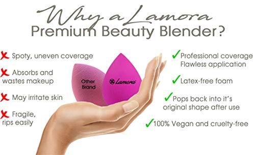 301060501673 Original Beauty Makeup Sponge Blender Foundation Blending Sponge - Multi  Shaped & Colored - Soft, Latex Free, Vegan - Flawless Application for ...