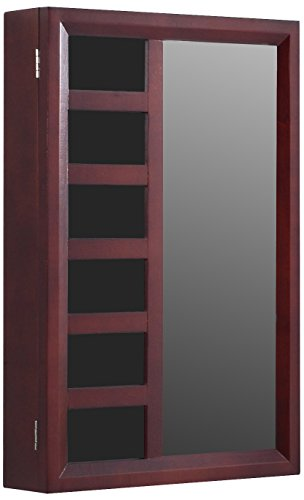Proman Products Jewelry Armorie, Mahogany