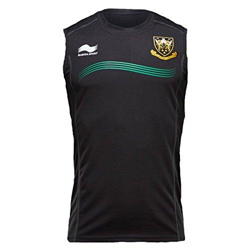 BURRDA northampton saints rugby gym vest / training singlet - X-Large