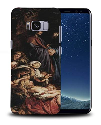 Foxercases Designs #1 - Peter Paul Rubens - Elevation of The Cross II Art Art Painting Sketch Hard Phone Case Cover for Samsung Galaxy S8