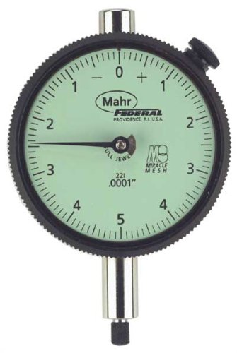 Mahr Federal 2014698 AGD 2 Dial Indicator, 10.00