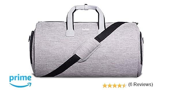 Bolsa de Lona Y Portatrajes 2en1 | Bolsillo para Laptop, Caja de ...