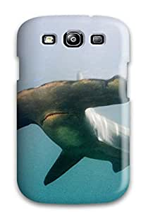 Cute Appearance Cover/tpu DVHyyui973jOWge Hammerhead Shark Case For Galaxy S3