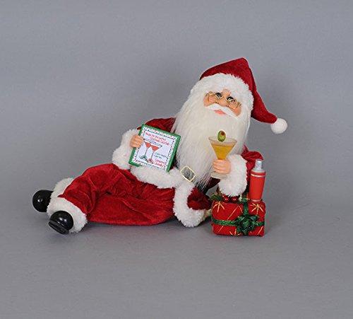 Karen Didion Martini Mixer Santa by Karen Didion Originals