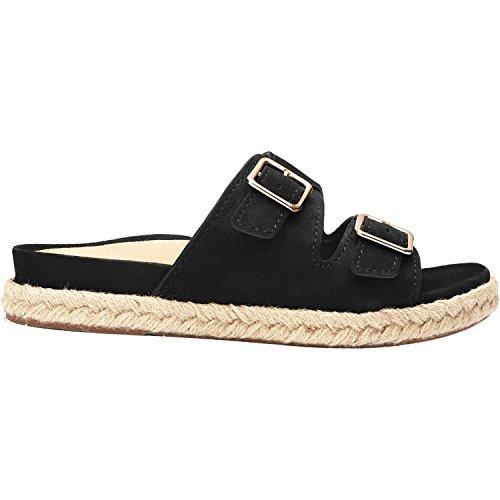 Vionic Womens Gia Slide Sandal Black Size 6.5
