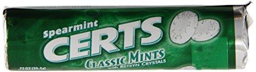 Certs classique menthes, la menthe verte, 12 pièces Packs (Pack de 48)
