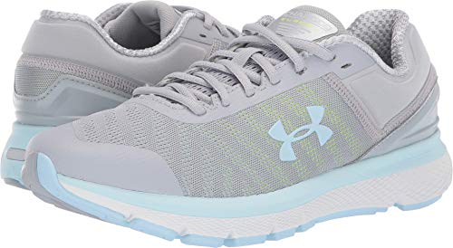 Under Armour Women's UA Charged Europa 2 Mod Gray/Coded Blue/Mod Gray 9.5 B US