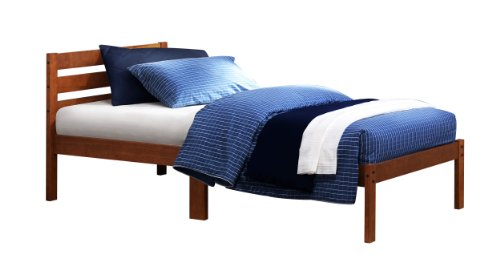 The Bart Twin Size Platform Bed in Cherry Finish By Homelegance