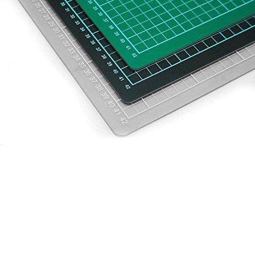 FTM Schneidematte selbstheilend, Schwarz   Grün 60cm x 90cm 90cm 90cm Schneideunterlage für Nähen und Basteln mit Cutter geeignet B0074H2LO0 | Qualitätskönigin  86e68d