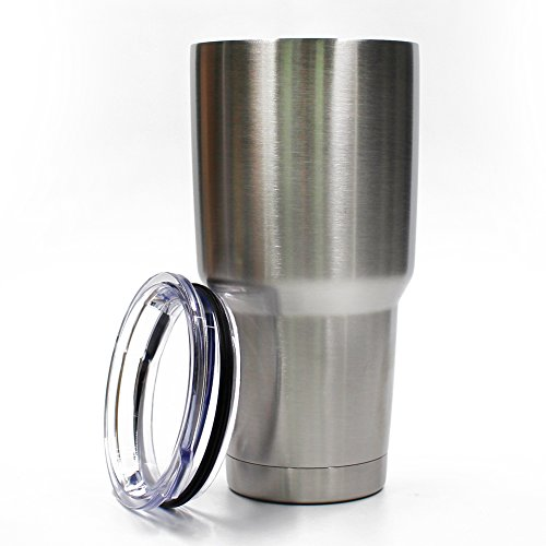 Stainless Steel Tumbler With Insulated Lid Set Cup 30 oz
