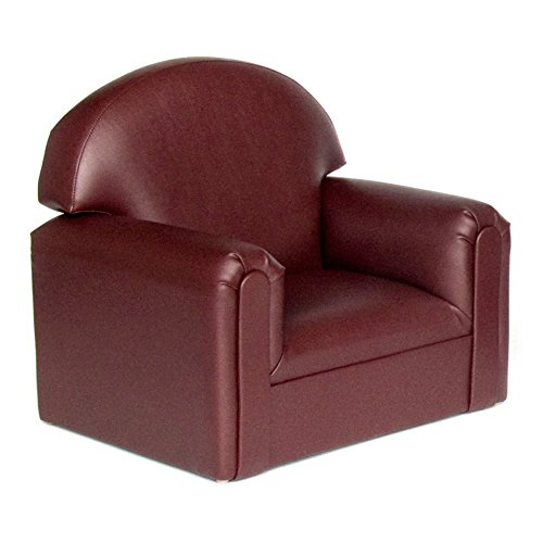 Brand New World Toddler Premium Vinyl Upholstery Chair – Port Burgundy