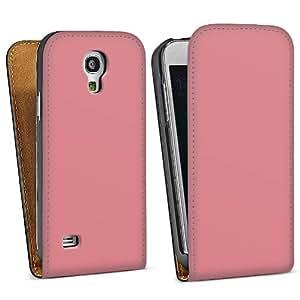 Diseño para Samsung Galaxy S4 Mini I9195 DesignTasche Downflip black - Rosé