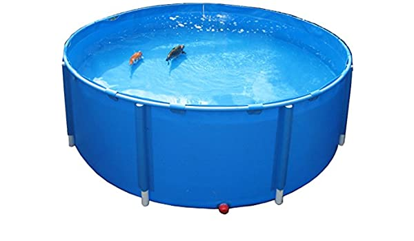 AquaForte - Red para Piscinas Plegable Diámetro 100 cm: Amazon.es ...