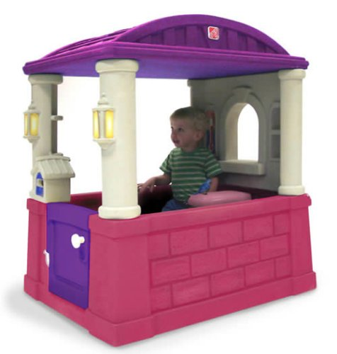 Step2 Four Seasons Playhouse - Pink/Purple by Step2
