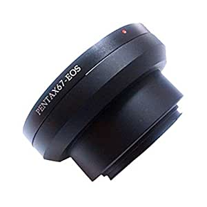 Adaptador pentax67 A canónigo EF-lente Canon eospentax67-eos