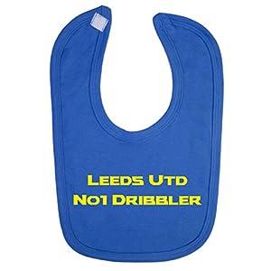 Leeds Utd No 1 Dribbler Baby Bib