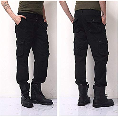 Di Pantaloni Tasca Multi Nero Uomo Outdoor 88 Etero Uomini Degli Sport Dei Bobo Casual Abbigliamento 5vIB6TqIw