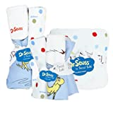 Trend Lab Bouquet Set - Dr. Seuss One Fish Two Fish - Bath & Burp