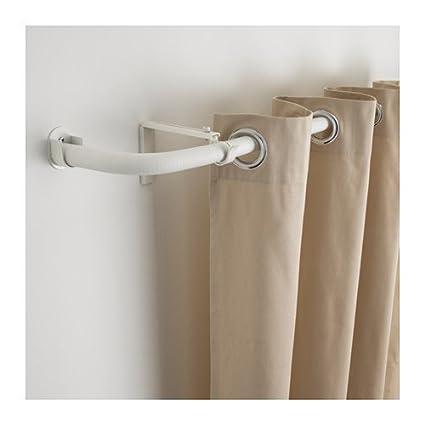 Ikea Curtain Rod Combinationbay Window White 420208298182