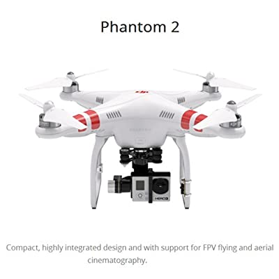 Lightinthebox® DJI Phantom2 Quadcopter With Zenmuse H3-3D Gopro Gimbal Combo Video Remote Control Helicopter Rc Quadcopter Multi Function Hobbies and Toys for Men