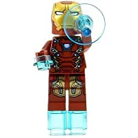 Lego Iron Man Mark 46 Minifigure Loose Exclusive 76051 Super Heroes