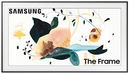 SAMSUNG 65-inch Class FRAME QLED LS03 Series - 4K UHD Dual LED Quantum HDR Smart TV with Alexa Built-in (QN65LS03TAFXZA, 2020 Model)