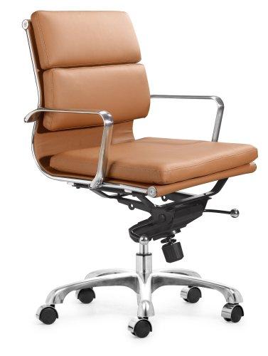 [Zuo Modern Director Office Chair, Terracotta] (Director Office Chair)