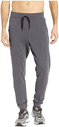 [Asics(アシックス)] メンズウェア・ジャケット等 Fleece Pants Steel Grey Heather US 2XL (2XL) 27.5 [並行輸入品]