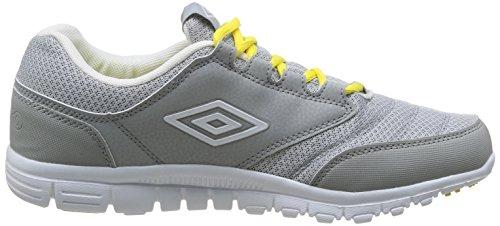 Umbro Didbury - Zapatillas de Deporte de material sintético hombre gris - Gris (347-Gris/Blanc/Citron)