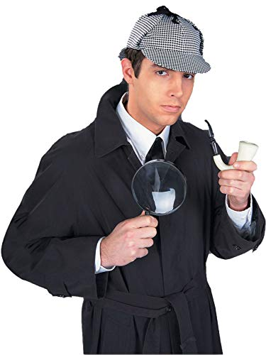 Forum Great Detective Costume Accessory Kit, Multi, One Size