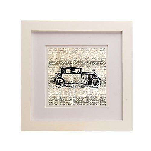 (Sweet Potato Traffic Jam Framed Wall Art Print, Roadster)