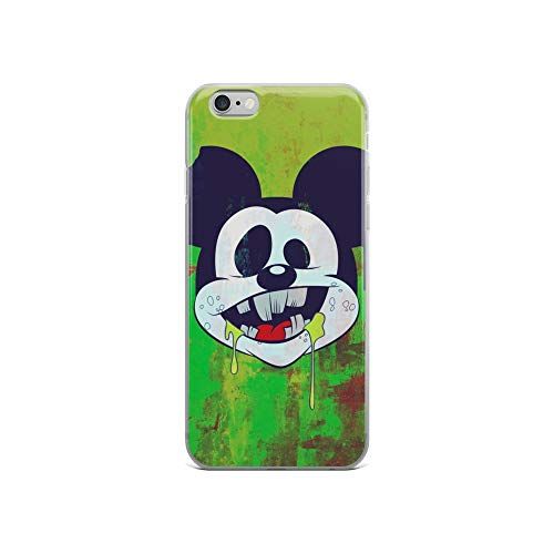 iPhone 6/6s Case Anti-Scratch Creature Animal Transparent Cases Cover Mouse Zombie Animals Fauna Crystal Clear]()
