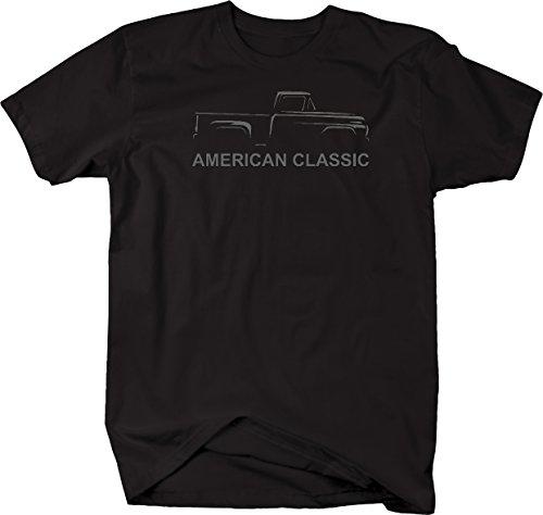 - American Classic Vintage Hot Rod Chevy Ford Pickup Truck Tshirt - 3XL
