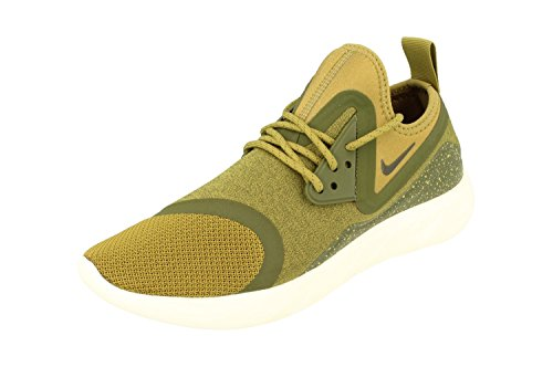 Nike Men Lunarcharge Essential, BLACk/DARK OBSIDIAN-VOLT Khaki