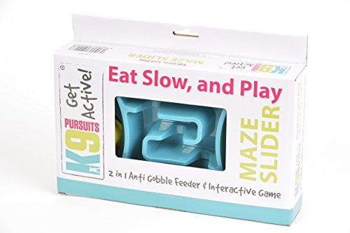 K9 Pursuits Maze Slider 2-in-1 Anti-Gobble Feeder and Interactive Game 3