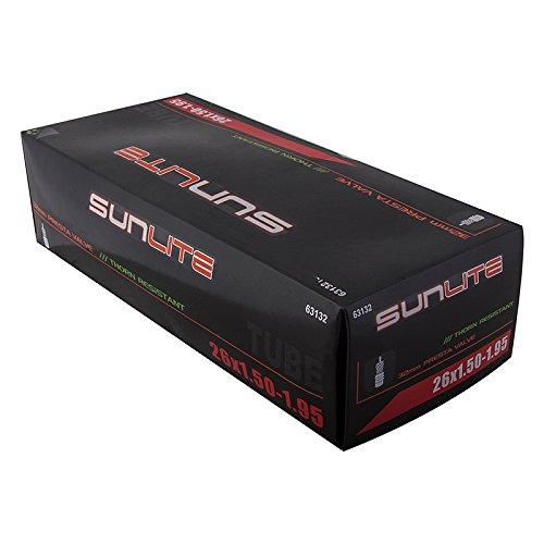 SUNLITE Thorn Resistant Presta Valve Tubes, Multiple Sizes