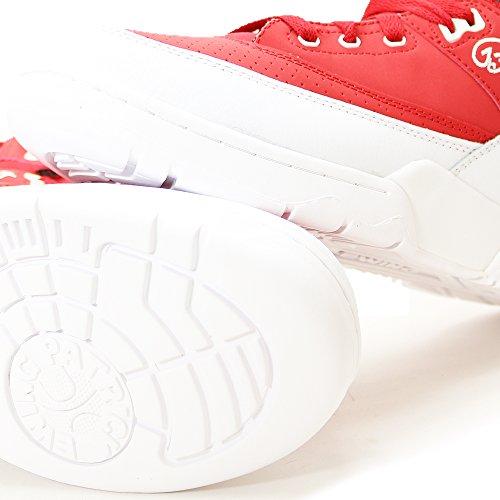 Ewing Hi33 Rood Witte Schoen Rood Wit