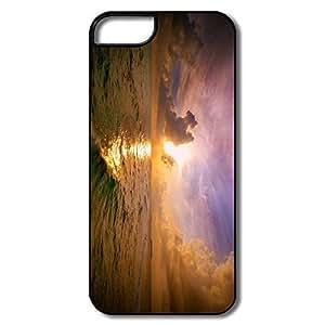 Custom Uncommon Non-Slip Sea Sunset IPhone 5/5s Case For Her