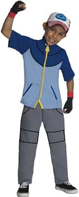 Deluxe Pokemon Ceniza Disfraz para niños: Amazon.es: Juguetes y juegos