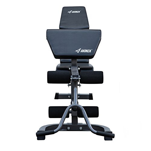 Akonza Fid Flat Incline Decline Weight Bench With Leg