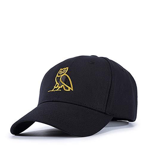 Tendencia los y Moda Gorra búho béisbol del Bordado de la Mujeres de del de de Personalidad la de Las Amarillo Gorra la Hombres de Caqafw