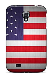 Excellent Design Usa Flag Case Cover For Galaxy S4
