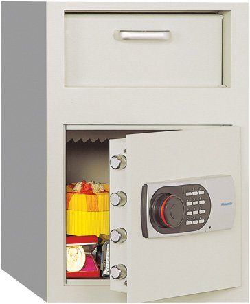 Phoenix Front Loading Digital Lock Depository Safe 0.8 cu ft ()