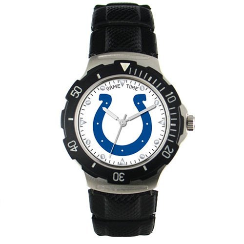 Game Time Indianapolis Colts Men's Polyurethane Watch