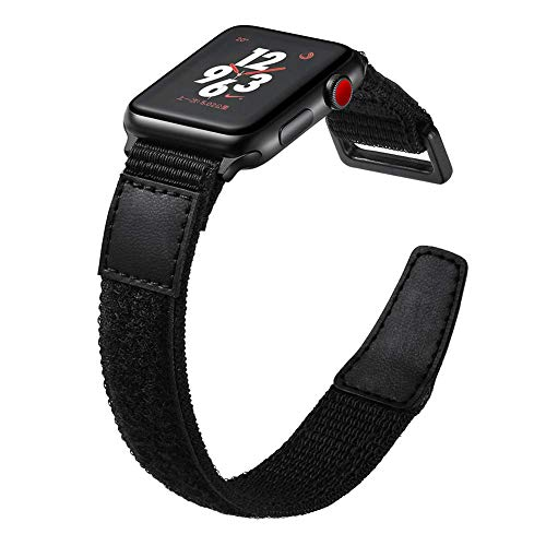 Compatible Apple Watch Band 38mm 42mm 40mm 44mm,Nylon Replacement Wrist Strap Compatible iWatch Series 4/3/2/1,40MM