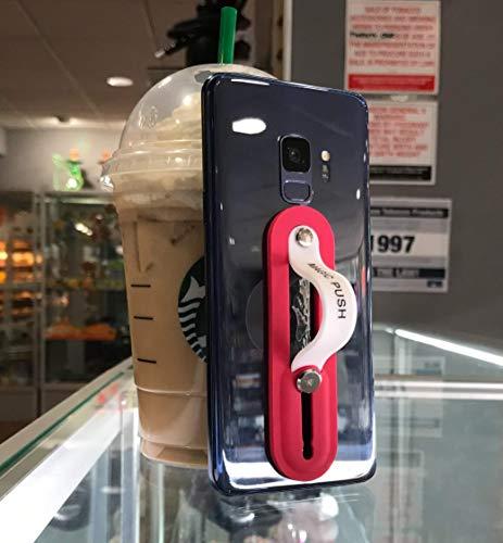 Phone Grip Mate - Anti Slip Phone Grip and Phone Stand Ring (red)