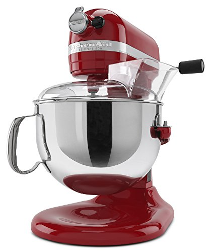KitchenAid KP26M1XER 6 Qt. Professional 600 Series Bowl-Lift Stand Mixer - Empire Red by KitchenAid (Image #3)