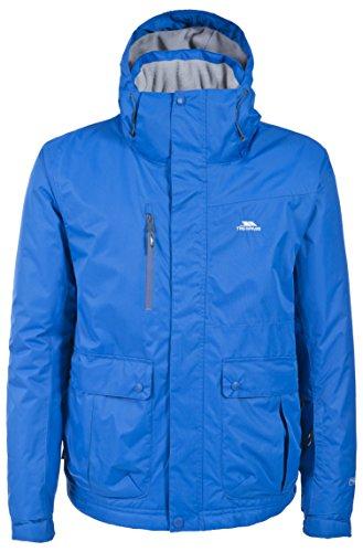 "Trespass mens Trespass Mens Tucson Waterproof Windproof Padded Ski Jacket Electric Blue L - Chest 41-43"" (104-109cm)"