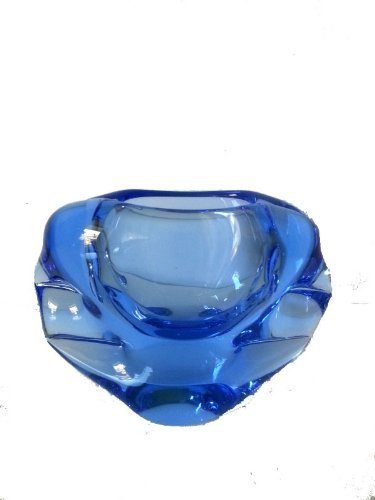 ash-tray-of-glass-in-blue-transparent-color-diameter-approx-15-cm-oberstdorfer-glashutte