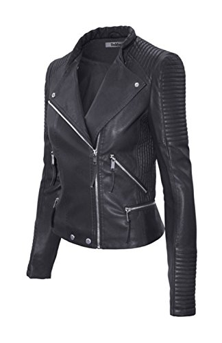 Fitted Leather Jacket - 2